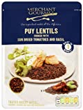 Merchant Gourmet Puy Lentils with Sun Dried Tomatoes and Basil 250 g (Pack of 6)