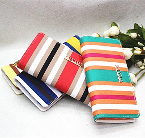 New Fashion Women Leather Wallet Zip Around Case Purse Lady Long Handbag Bag -- $6.78 + Free Shipping