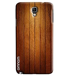 Omnam Wooden Stripes Printed Designer Back Cover Case For Samsung Galaxy Note 3 Neo