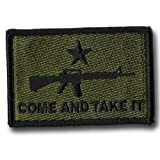 AR-15 Come and Take It Tactical Patch - Olive Drab