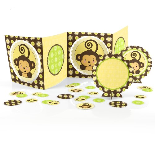 Monkey Neutral - Baby Shower Table Decorating Kit front-668537