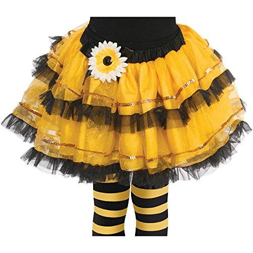 Amscan Bumblebee Fairy Tutu -Child Small (4-6) - 1