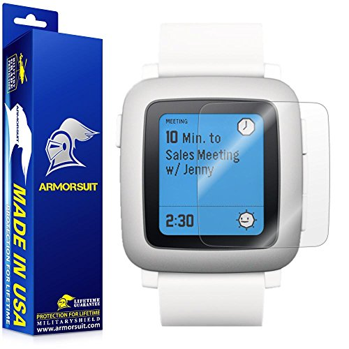 pebble-time-screen-protector-full-coverage-2-pack-armorsuit-militaryshield-made-in-usa-2-pack-anti-b