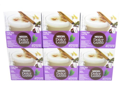 Dolce Gusto Chai Tea Latte (Case Of 6 Packages; 96 Capsules Total) front-539559