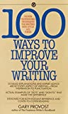 img - for 100 Ways to Improve Your Writing (Mentor Series) by Gary Provost (1985-10-01) book / textbook / text book