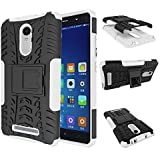 DWay Xiaomi Redmi Note 3 Cover Hybrid Armor Design with Stand Feature Detachable Dual Layer Protective Shell Phone...