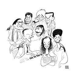 Hand Signed AL HIRSCHFELD, AMERICAN POPULAR SONG: GREAT AMERICAN SINGERS, Limited-Edition Lithograph: Tony Bennett, Ella Fitzgerald, Bing Crosby, Frank Sinatra, Lena Horne, Judy Garland, Nat 'King' Cole, and Fred Astaire by THE MARGO FEIDEN GALLERIES LTD.