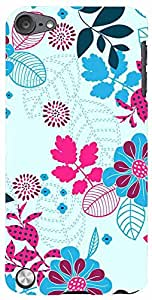 PrintVisa Pattern Abstract Floral Case Cover for Apple iPod Touch 5
