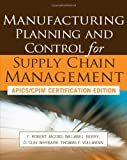 img - for Manufacturing Planning and Control for Supply Chain Management book / textbook / text book