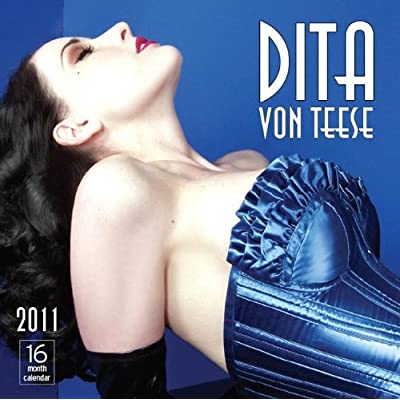 dita von teese 2011 calendars