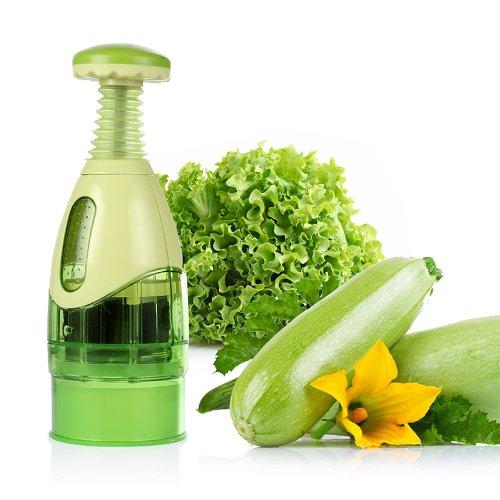 Lagute LGK-113 Garlic Crusher Food Meat Grinder Smasher Mash Kitchen Tool, Green