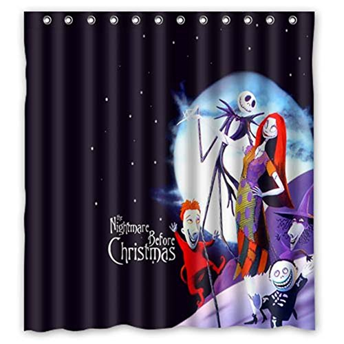 Funky Nightmare Before Christmas Shower Curtains : Funk This House