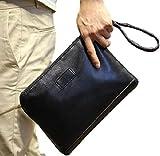 (エーライフ) A LIFE クラッチバッグ メンズ セカンド ポーチ 2way a4 鞄 カバン ビジネス (タイプ B)