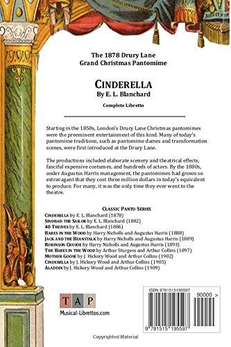 Cinderella : The 1878 Drury Lane Pantomime: Complete Libretto (Classic Panto Series)