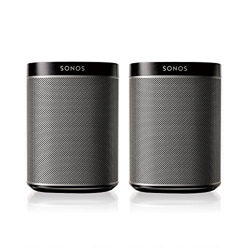 SONOS PLAY:1 2-Room Streaming Music Starter Set Bu…