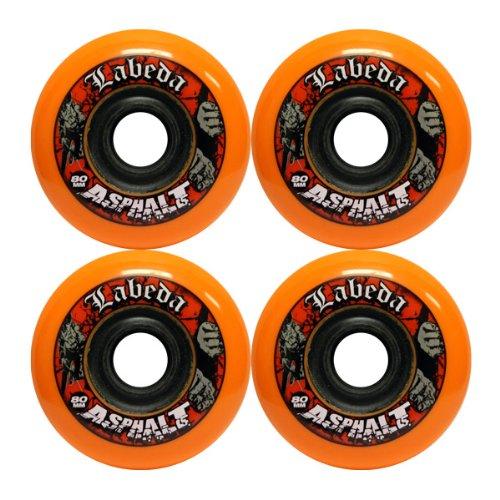 Best Deals! LABEDA WHEELS Inline Roller Hockey GRIPPER ASPHALT 80mm