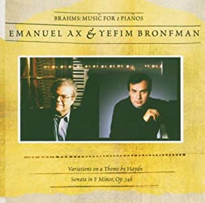 Music For 2 Pianos (Ax, Bronfman)