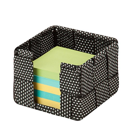 honey-can-do-ofc-04480-woven-memo-holder-4-by-4-by-3-inch-salt-pepper