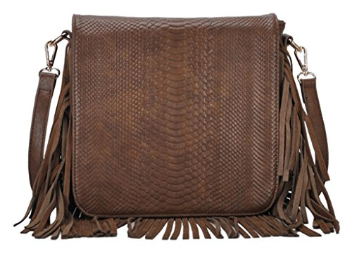 Antik Kraft Naya Women'S Coffee Cross-Body Handbag