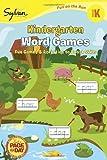 Kindergarten Word Games (Sylvan Fun on the Run Series) (Fun on the Run Language Arts)