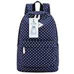 Lightweight Casual Daypack Canvas Pol...