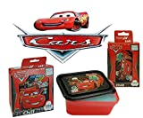 Disny Pixar Car's Mealtime ChillPak 4. Pc Resuable Food Container Set w/ Hot & Cold Technology! Featuring Lighting McQueen & Mater