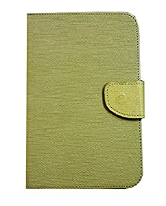 """nkarta TM Green + Blue 7"""" inch Universal Flip Flap PU Leather Case Carry Stand Cover for Asus Memo Pad HD7 8 GB"""