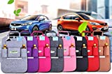 #6: Dealcrox High Demanded Storage bag Car Seat Cover Organizer Holder Bottle tissue box Magazine Cup Food Phone Bag backseat Organizer
