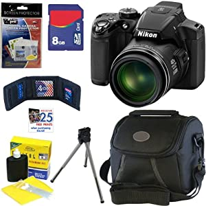 Nikon COOLPIX P510 16.1 MP CMOS Digital Camera with 42x Zoom and