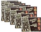 ハワイアンホースト マカデミアナッツチョコ【8粒】  スクエアTIKI 4oz 【10箱】【クール便】