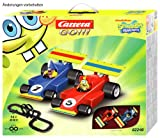 CARRERA Go!!! Set Spongebob Squarepants Slot Car Racing Track 62285
