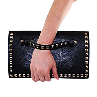 Designer Inspired Wristlet Clutch Bag / Hand-strap Clutch Bag with
