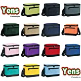 Yens® Fantasybag Deluxe Lunch Box Cooler Bag Cooler-Black,6CP-2706