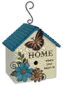 Sunset Vista Designs Butterfly Birdhouse, 18.25-Inch