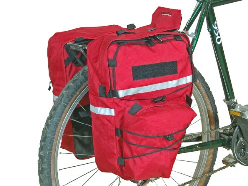 Bushwhacker Cimmaron Red - Bike Pannier