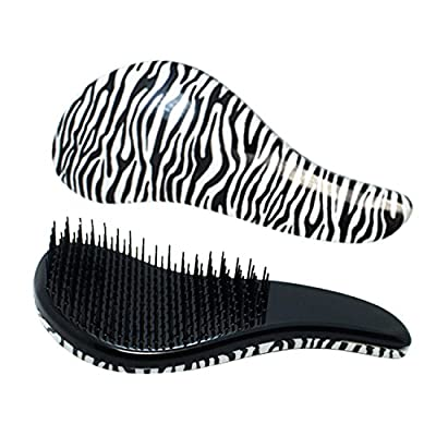 Detangling Brush-Luismia Glide through Detangler Hair Comb or Brush-No More Tangle-Detanglers-Hairbrush to Untangle Wet Thick & Curly Hair-less hair loss