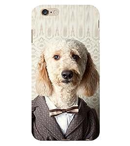 EPICCASE Dog in suit Back Case Cover For Apple iPhone 6/6s (Designer Case)