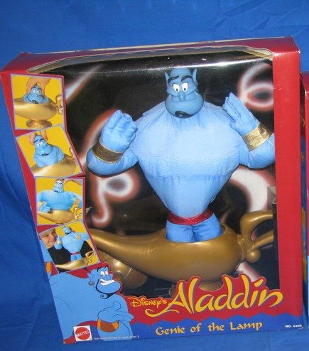 Buy Low Price Mattel Disney's Aladdin Genie of the Lamp Figure (B002G4Y09A)