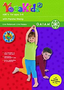 Yoga Kids 2 - Abc's (3-6) - Dv