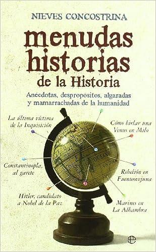 Menudas historias de la historia ISBN-13 9788497349826