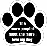 E&S Pets 13125-179 Dog Car Magnet