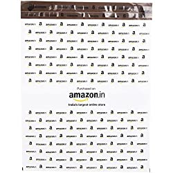 Amazon.in Branded Economy Polybag with Document Pouch (Size -14 Inches X 12 Inches, Count - 100 Polybags)