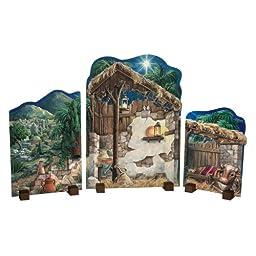 Byers\' Choice Nativity Backdrops Figurine