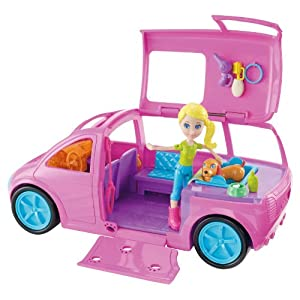 Polly Pocket Cruisin Pet Spa Vehicle