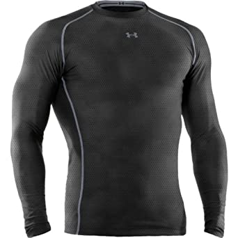 Under Armour Mens HeatGear Sonic Compression Printed Long Sleeve T-Shirt by Under Armour