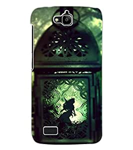 ColourCraft Creative Image Design Back Case Cover for HUAWEI HONOR HOLLY