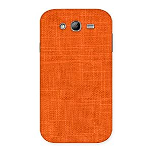 Orange Texture Squary Back Case Cover for Galaxy Grand