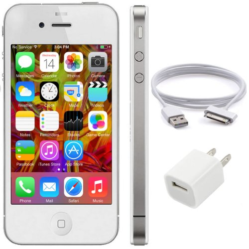 Home  Amazon Top Rated  Apple Iphone 4 8Gb, White, For Straight Talk ...
