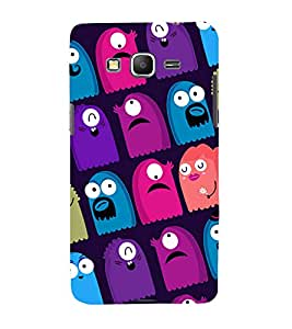 printtech Cartoon Pattern multiple Back Case Cover for Samsung Galaxy Grand Prime G530h