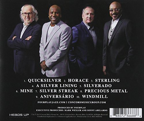 Original album cover of Silver by Fourplay